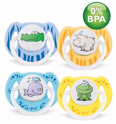Avent Philips Пустышка силиконовая Животный мир 6-18 мес. BPA-Free (2